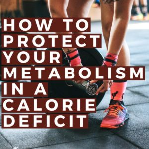 protecting your metabolism