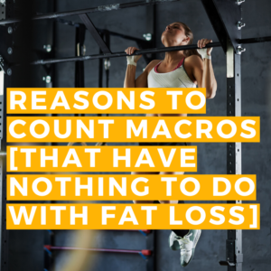 reasons to count macros